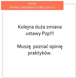 Nowe Prawo zamówień publicznych