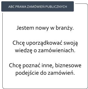ABC Prawa zamówień publicznych po elektronizacji